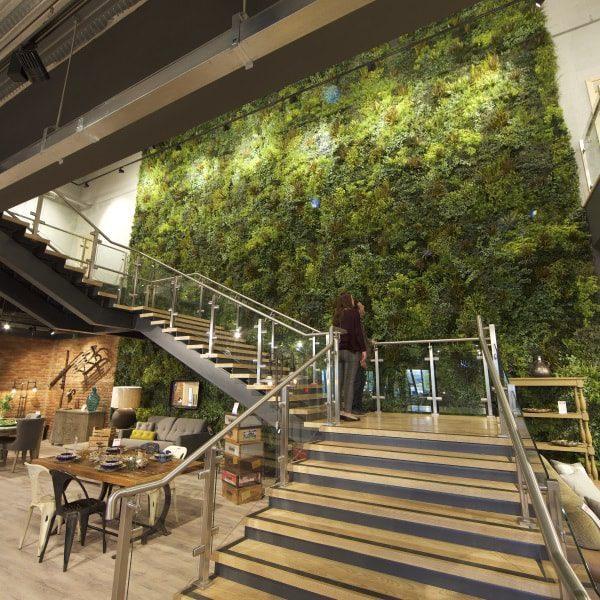 Luxurious Green Wall