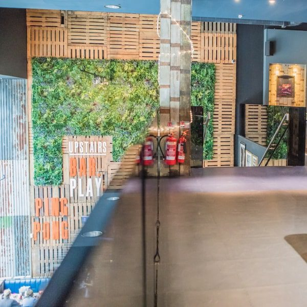Green Wall Retail Concept