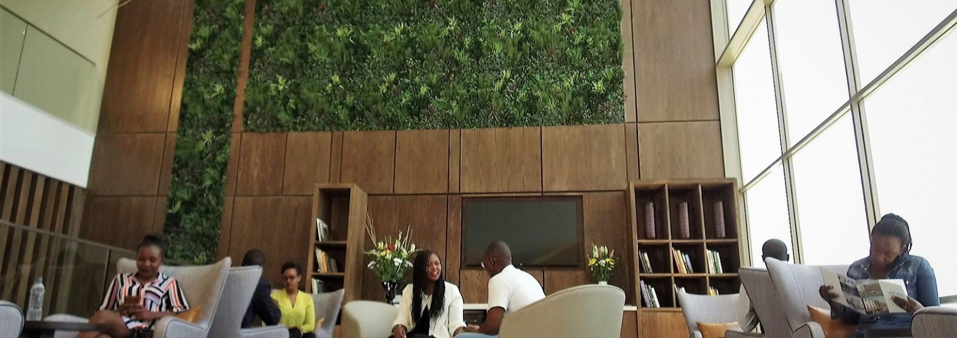 Airport Green Walls