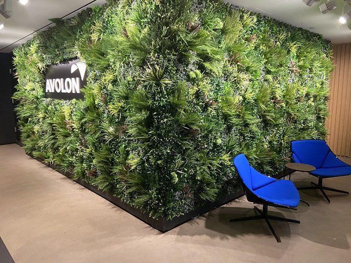 Office Green Wall