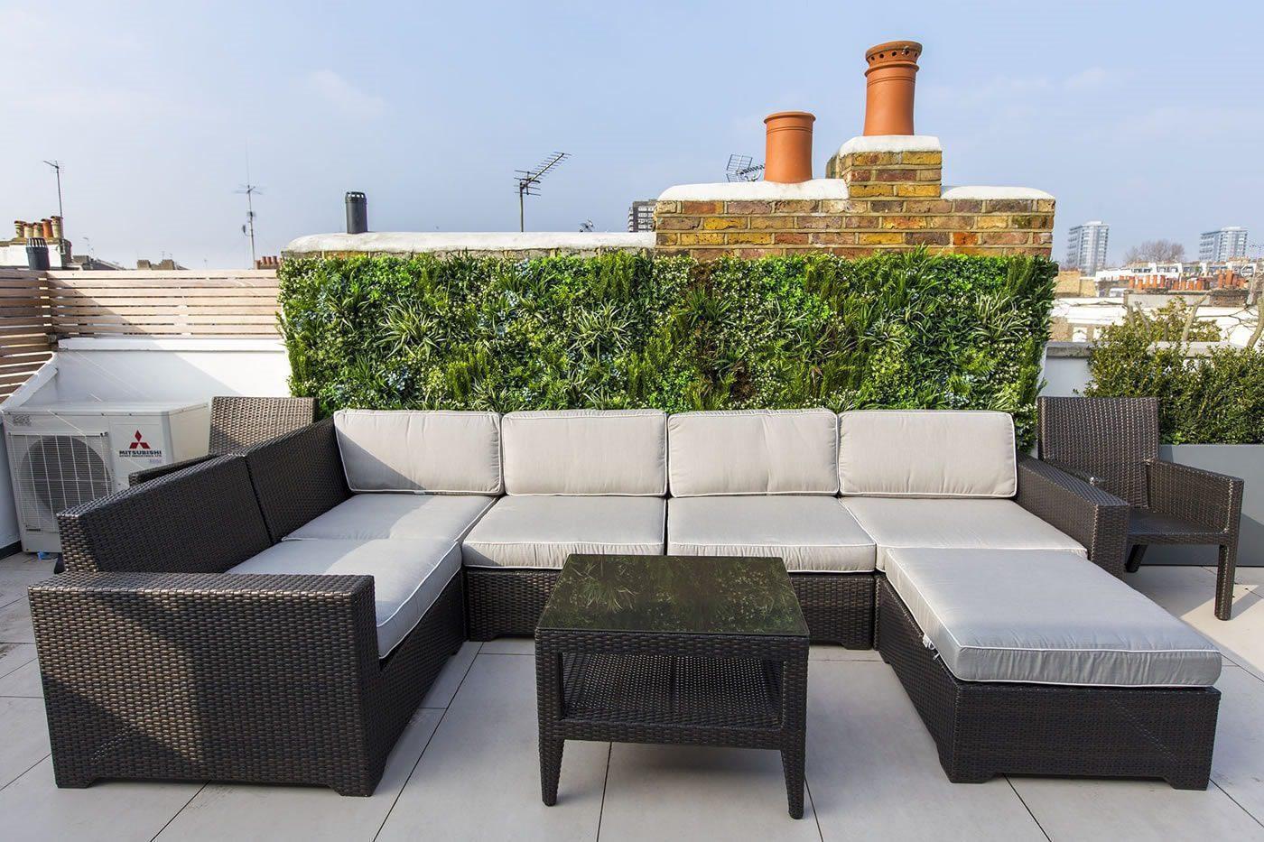 Luxury Green Wall