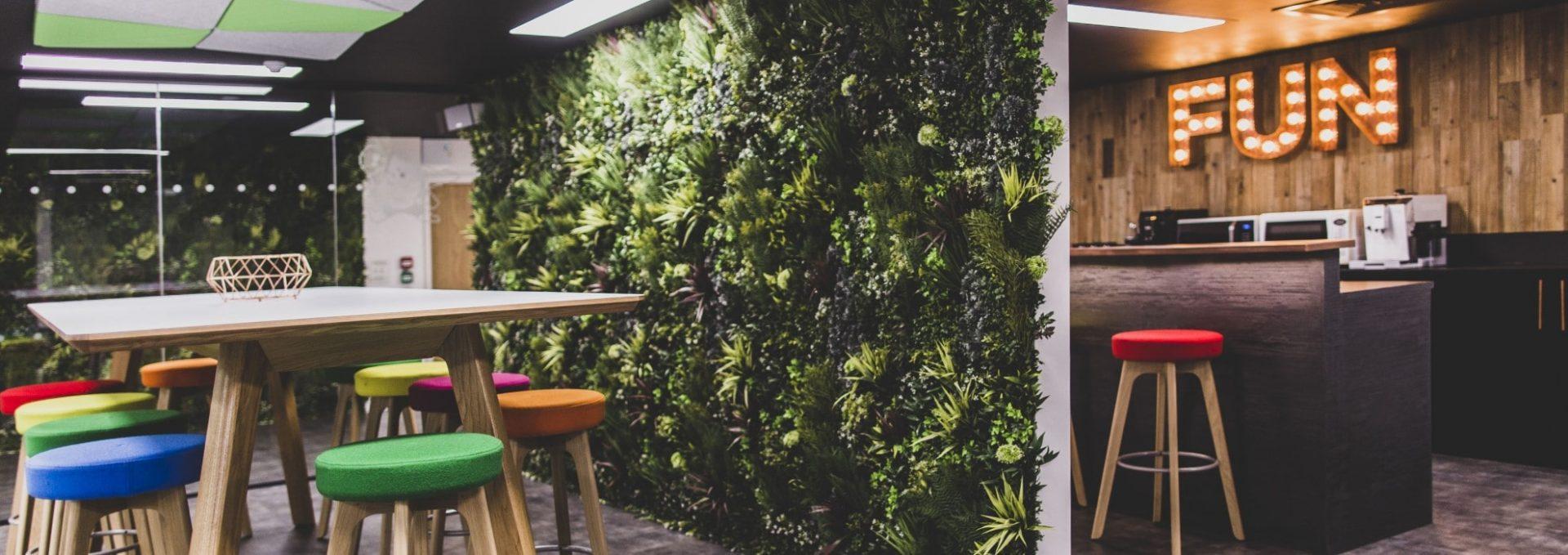 Elegant Green Walls
