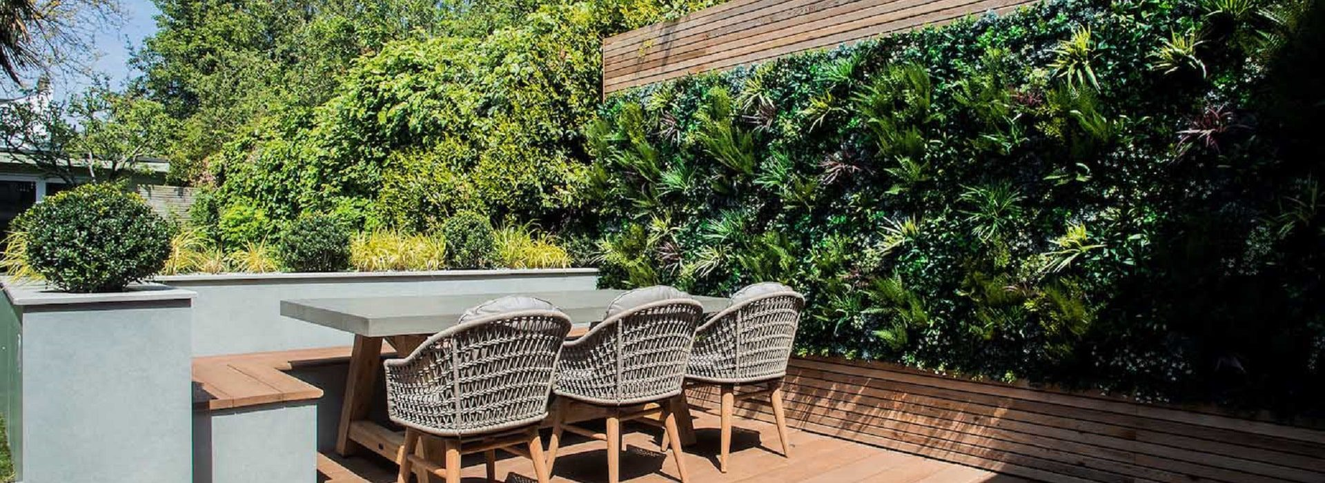 Faux Living Green Wall