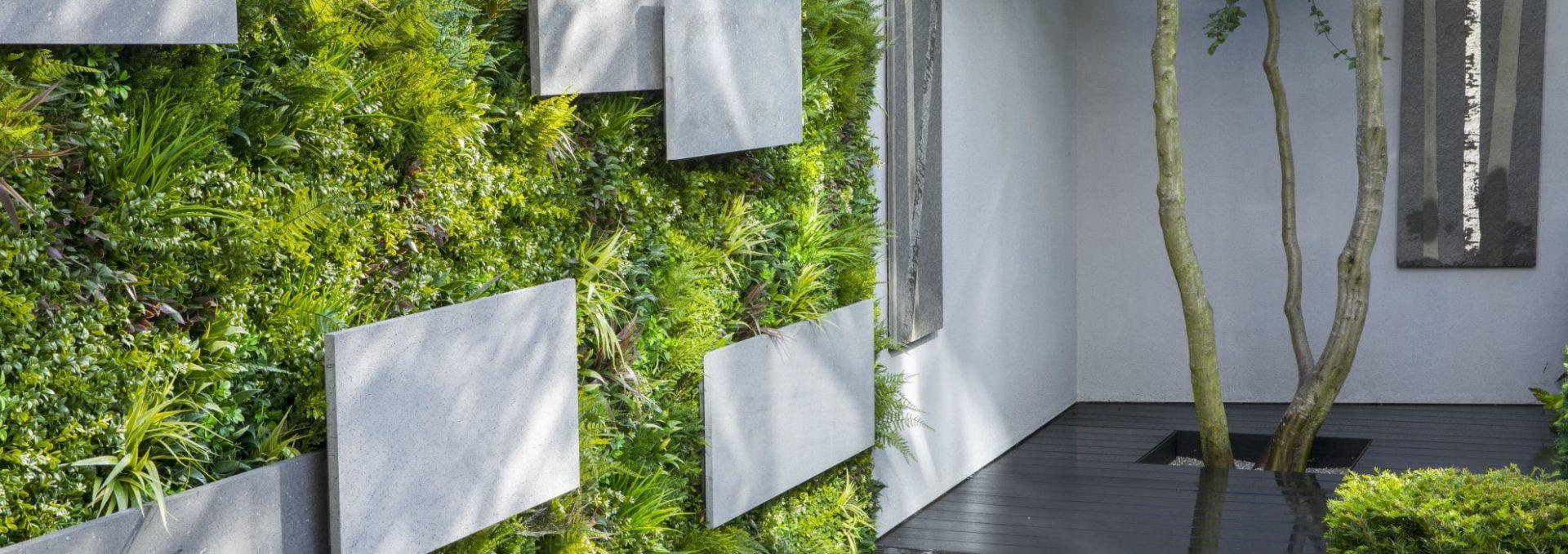 Stylish Artificial Green Wall