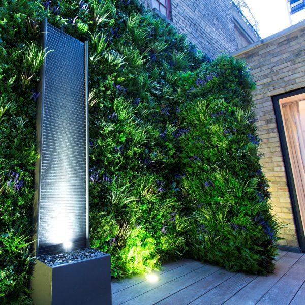 Courtyard Privacy Screening