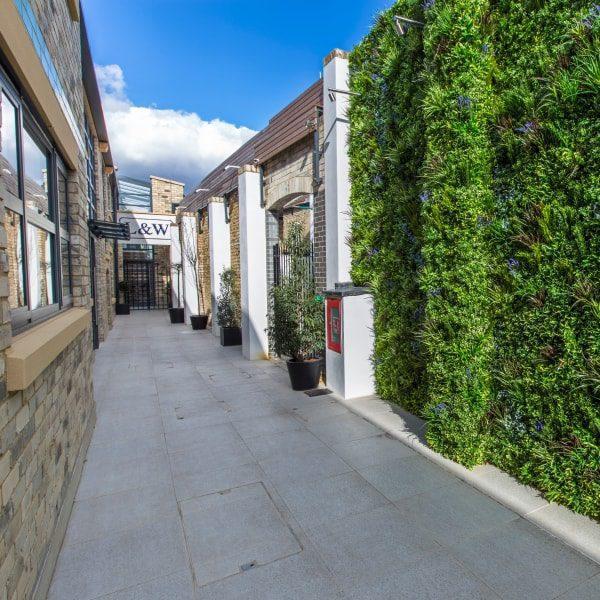 UV Green Walls