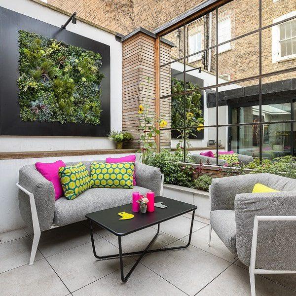 Artificial Indoor Vertical Garden