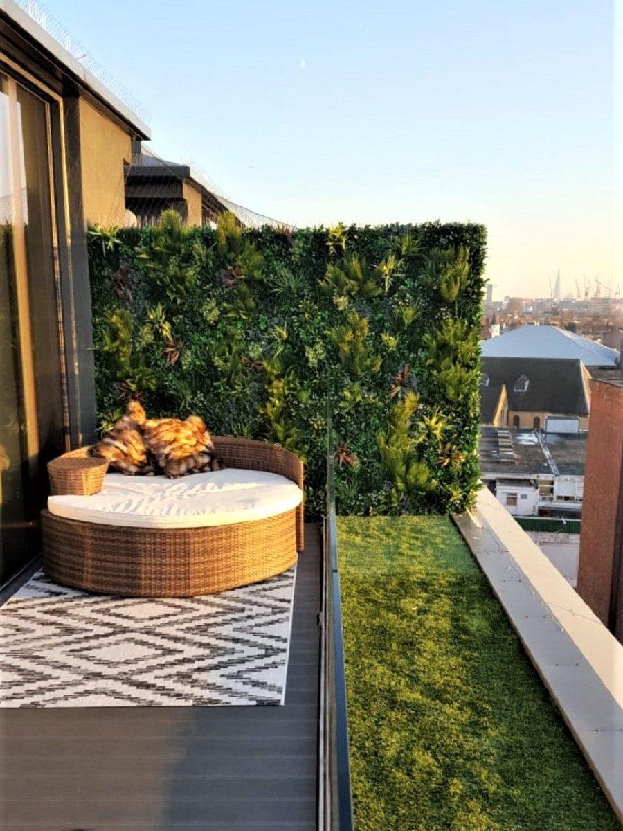 Luxury Rooftop Balcony