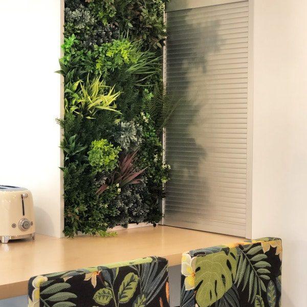 Green Wall Privacy Screening