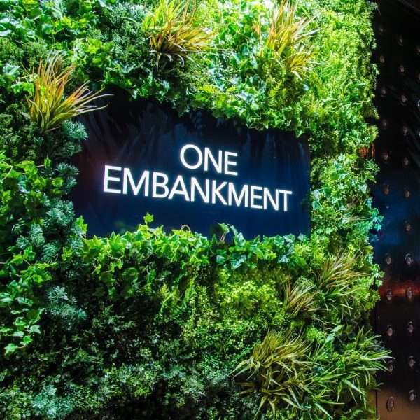 One Embankment Green Wall