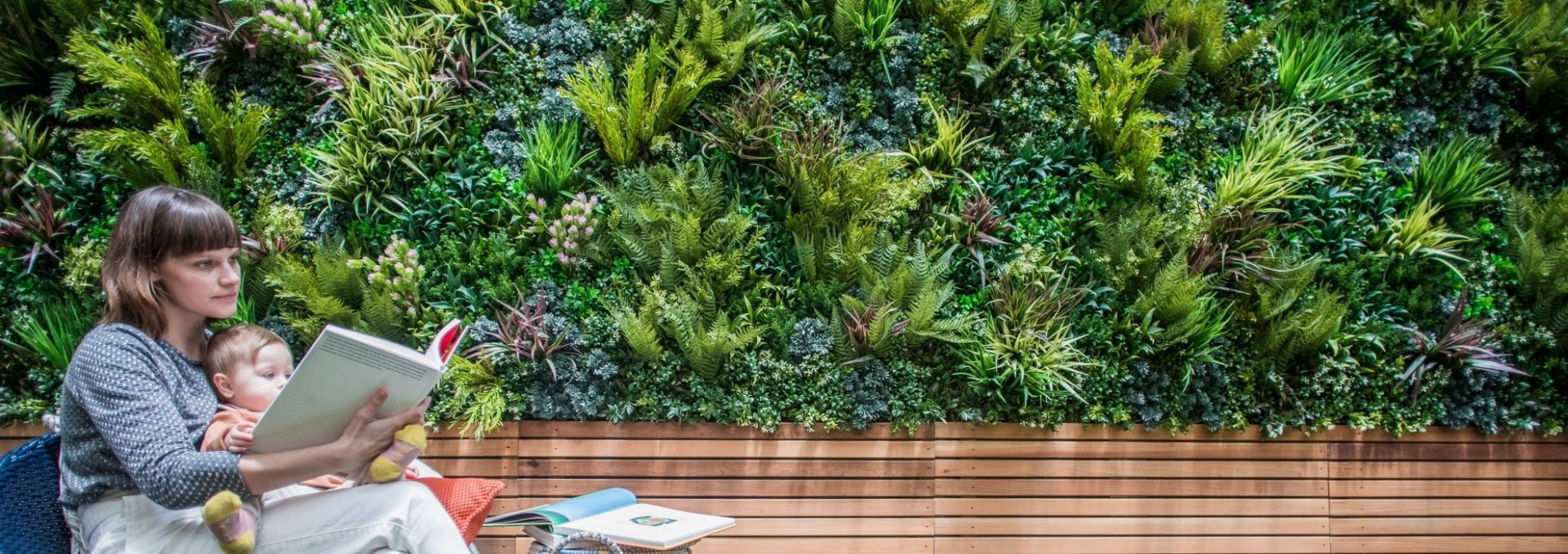 Green Wall Foliage Panels