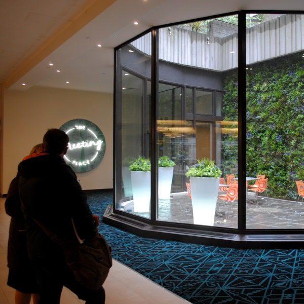 Indoor Green Wall Hotel
