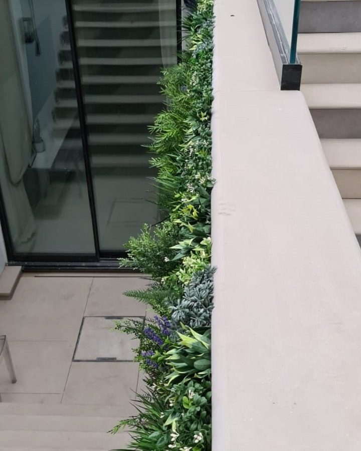 Stairway Green Wall