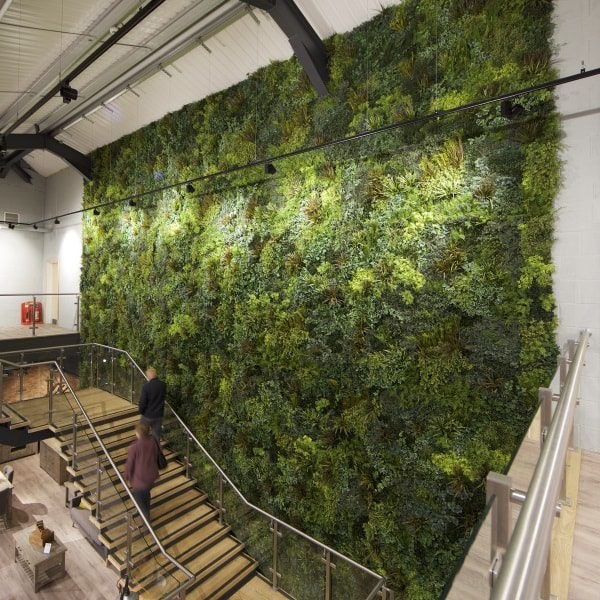 Luxurious Custom Green Wall