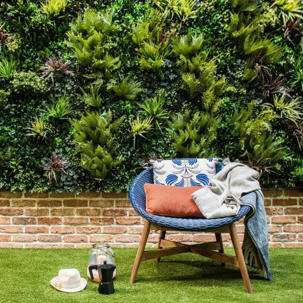 Green Wall Roof Terrace