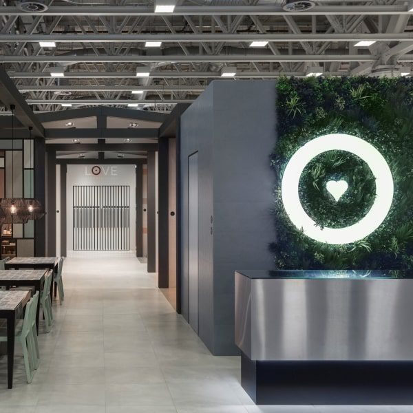 Private Green Wall Greenery