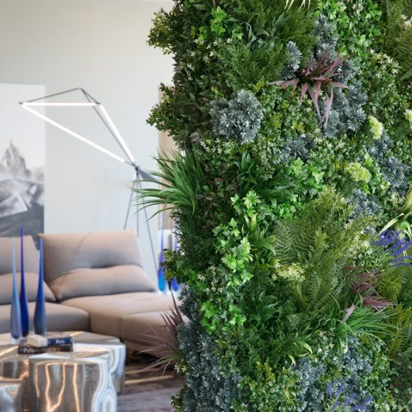 Roche Bobois Showroom Green Wall