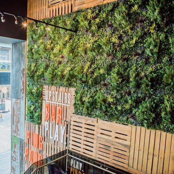 Green Walls Retail Concept