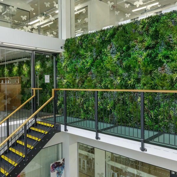 Artificial Indoor Green Wall