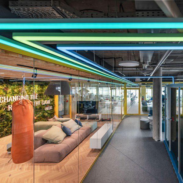 Workplace Motivation Green Walls
