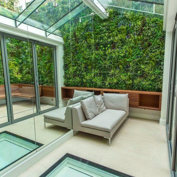 Vertical Artificial Living Wall