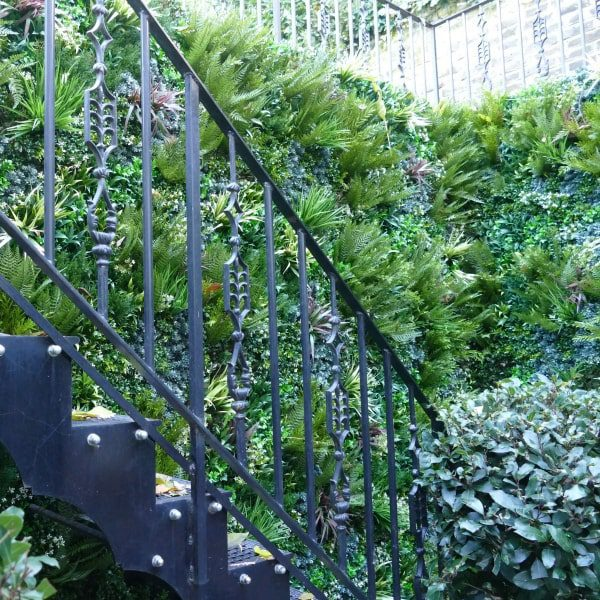 Staircase Green Wall