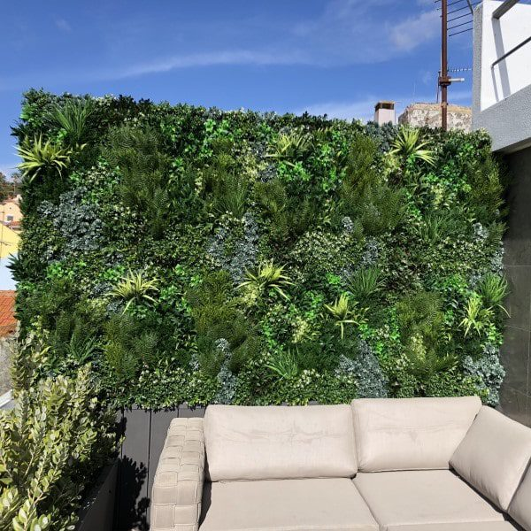 Rooftop Privacy Screening