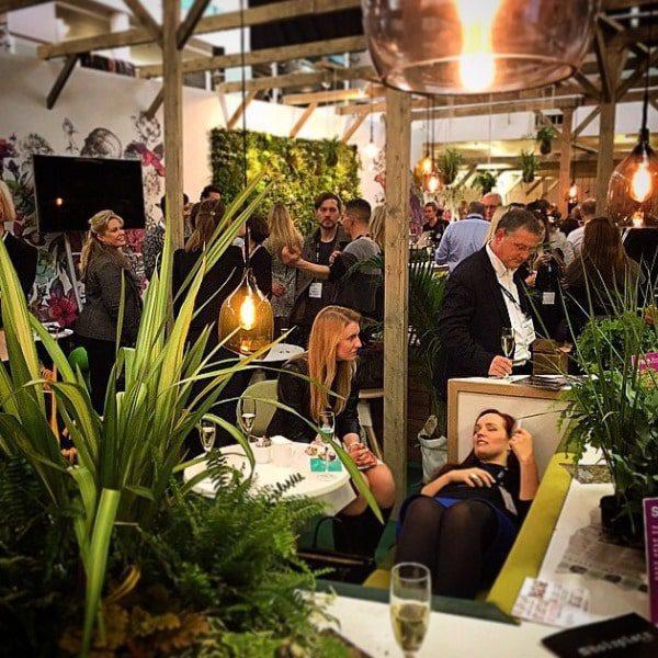 Architectural Gardens & Restaurant Feature Green Wall
