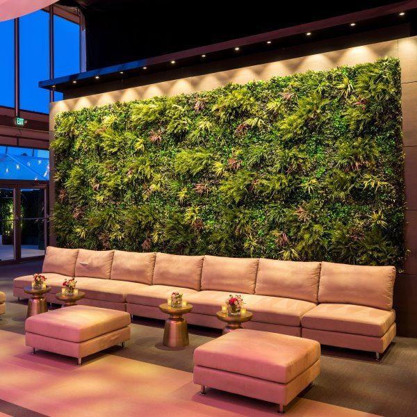 Hollywood Oscars Party Green Wall
