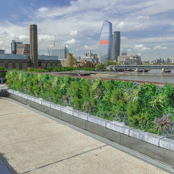 Outdoor Natural-Looking Green Wall